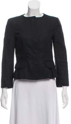 Burberry Woven Structured Jacket