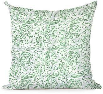 India Amory Peridot Paisley Pillowcase