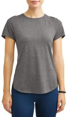 857757c998819 Avia Women's Core Active Short Sleeve Tunic Length Performance T-Shirt