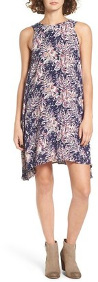 Roxy Capella Print Shark Bite Hem Swing Dress $39.50 thestylecure.com