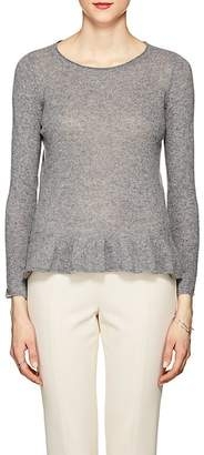 Barneys New York WOMEN'S CASHMERE PEPLUM SWEATER