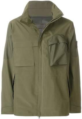 Stone Island oversized military jacket