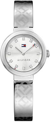 Tommy Hilfiger Women Sophisticated Sport Stainless Steel Bangle Bracelet Watch 28mm 1781714