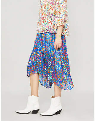 BA&SH Romeo crepe skirt