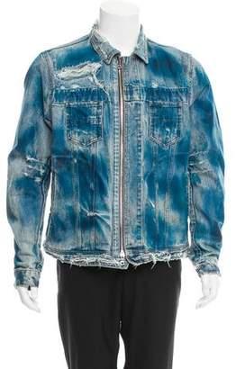 Amiri Coated Denim Jacket