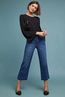 Paige Nellie High-Rise Culotte Jeans