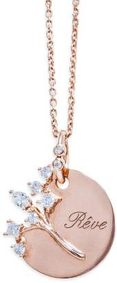 Nouvel Heritage Dream Necklace - Rose Gold