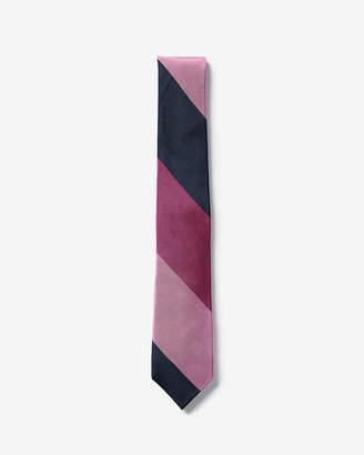 Express Narrow Silk Striped Tie