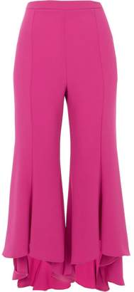 River Island Womens Pink cropped flared trousers