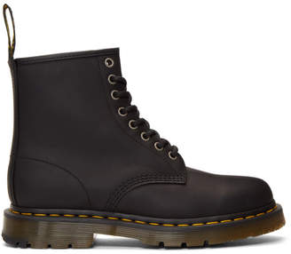 Dr. Martens Black Wintergrip 1460 Boots