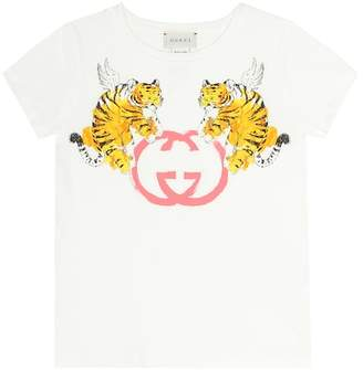 Gucci Kids GG printed cotton T-shirt
