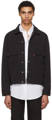 Levi's Levis Black Commuter Pro Type 2 Trucker Jacket