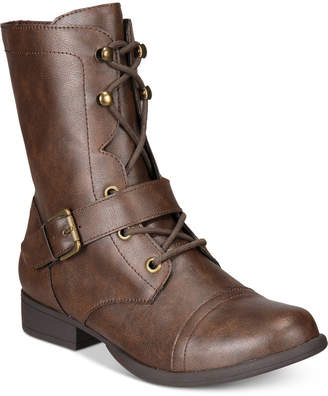 American Rag Farahh Combat Booties, Created for Macy's Women's Shoes