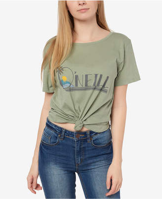 O'Neill Juniors' Peninsula-Graphic Cotton T-Shirt