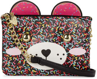Betsey Johnson Luv Betsey By Doublz Kitsch Sprinkle Bear Crossbody