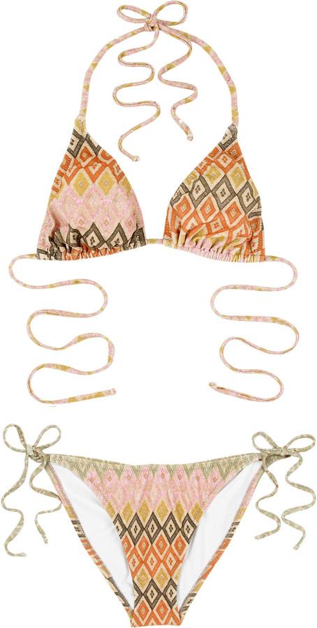 Diane von Furstenberg String bikini