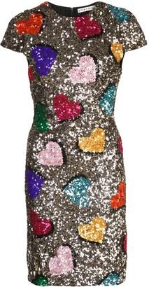 Alice + Olivia Alice+Olivia sequin embellished mini dress