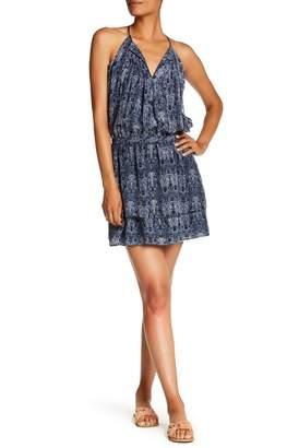 Joie Jossa Front Tassel Print Dress
