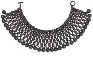 Josie Natori Six Layer Beaded Necklace