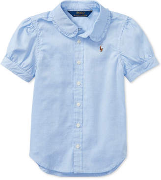 Polo Ralph Lauren Ralph Lauren Little Girls Solid Oxford Top