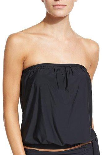 AthenaAthena Sand Tropez Bandini Swim Top, Black