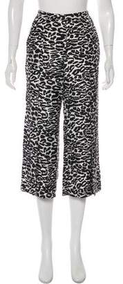 Piamita Silk Animal Print Pants w/ Tags