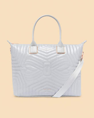 Ted Baker CHELSII Large reflective tote bag