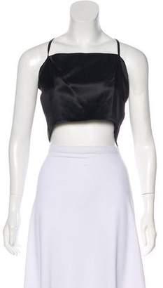 Chanel Silk Crop Top