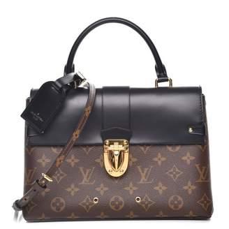 Louis Vuitton Flap One Handle Monogram MM Brown/Black
