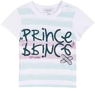 Alphabet Baby Boys' Desole J'Ai Rock T-Shirt,(Manufacturer Size: 9 Months)