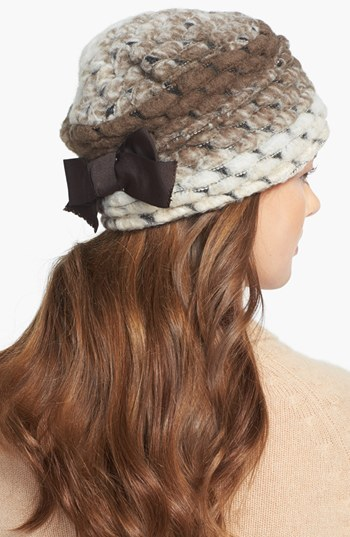 Tarnish Chunky Knit Cloche