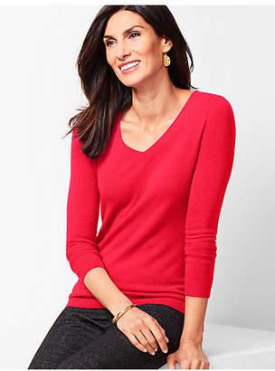 Talbots Cashmere V-Neck Sweater