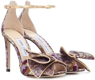 Jimmy Choo Karlotta 100 brocade sandals