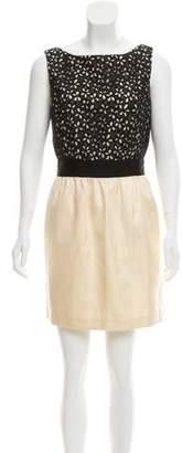 Milly Sleeveless Silk Dress