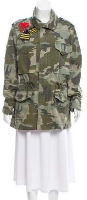 Mr & Mrs Italy Camouflage Patch Jacket