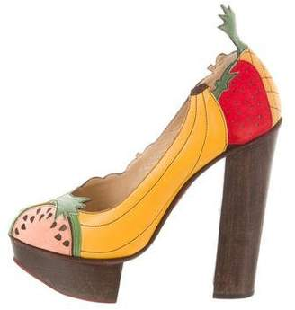 Charlotte Olympia Bananas is My Business Pumps
