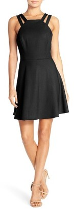Women's French Connection Whisper Light Fit & Flare Dress $148 thestylecure.com