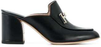 Tod's chunky heeled mules