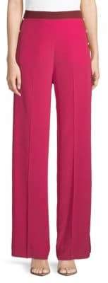 Valentino Wide-Leg Silk Pants