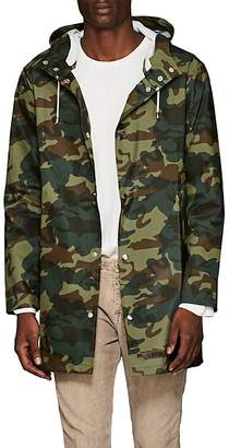 Stutterheim Raincoats Men's Stockholm Camouflage-Print Raincoat