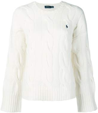 Polo Ralph Lauren wide sleeve cable knit sweater