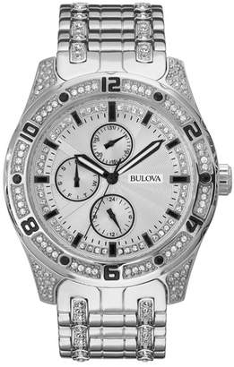Bulova Women's Quartz Crystal Accented Bracelet Watch, 43mm