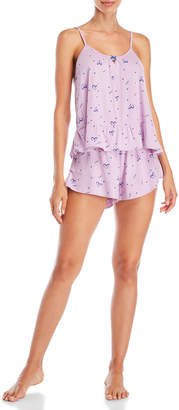 Juicy Couture Two-Piece Couture Crush Cami & Pajama Shorts Set