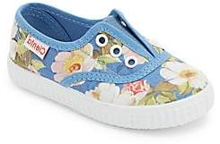 Cienta Baby's, Toddler's& Kid's Floral No Lace Sneakers