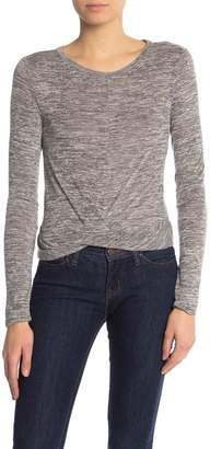 Abound Twist Front Long Sleeve Tee