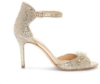Vince Camuto Imagine Prisca – Bead-embellished Sandal