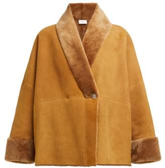 The Row Pernia Shearling Jacket - Womens - Camel