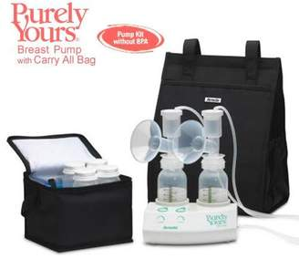 Ameda Breastfeeding Products Purely Yours Breast Pump with Carry All & AC Adapter (EW17077) Category: Breast Pumps And Supplies by