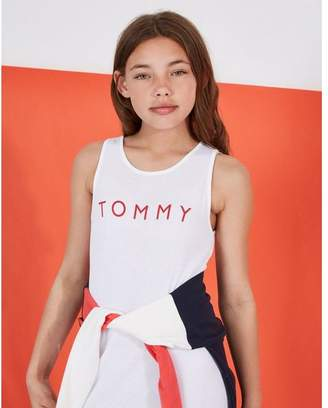 Tommy Hilfiger Girls' Tank Dress Junior