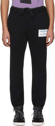 Sacai Black Stasis As To Vector Lounge Pants